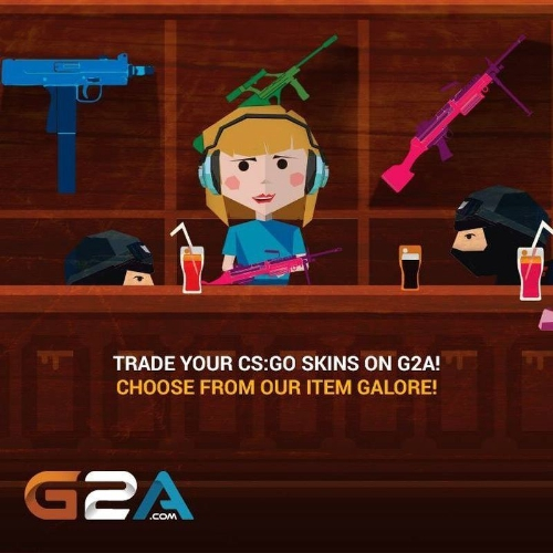 Counter Strike: Global Offensive Skins G2A.COM!
