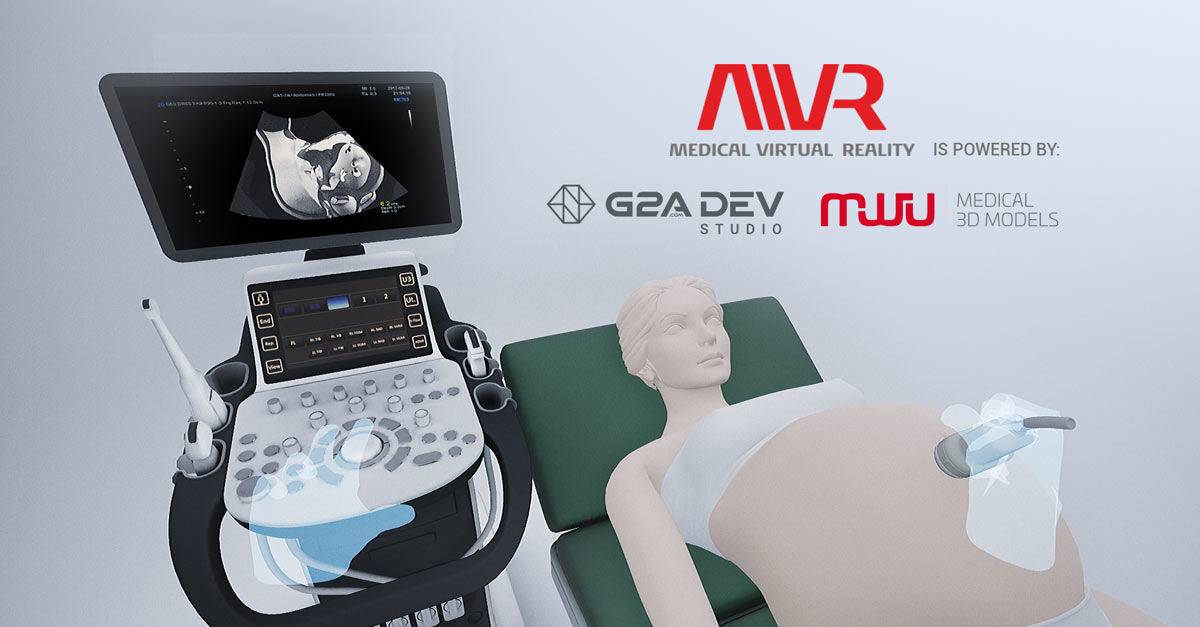 Using VR to save lives - G2A Dev Studio and MWU 3D MODELS join forces