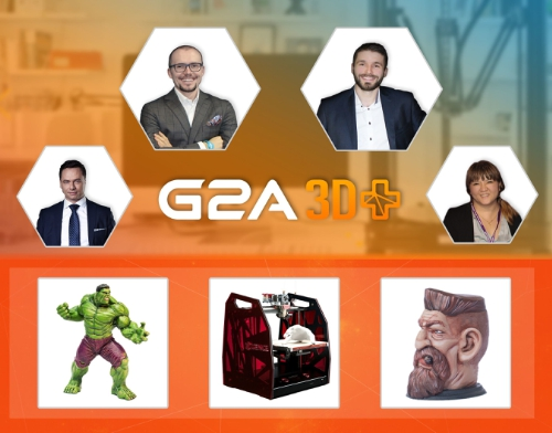 G2A 3D+ Announces Amazing Interactive Customised Merchandise at Taipei Game Show 2016