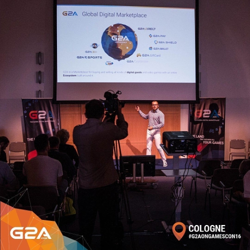 G2A's Annual 'Open Doors' International Media Conference at Gamescom 2016, Cologne Germany