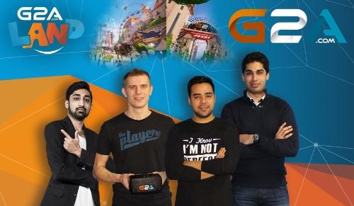 Virtual Reality G2A.com Shows First Cut of VR 'G2A Land' at Comic Con, Mumbai