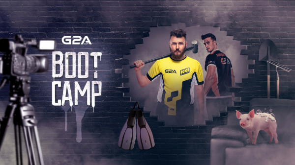 G2A to organize Virtus.pro and Natus Vincere bootcamp