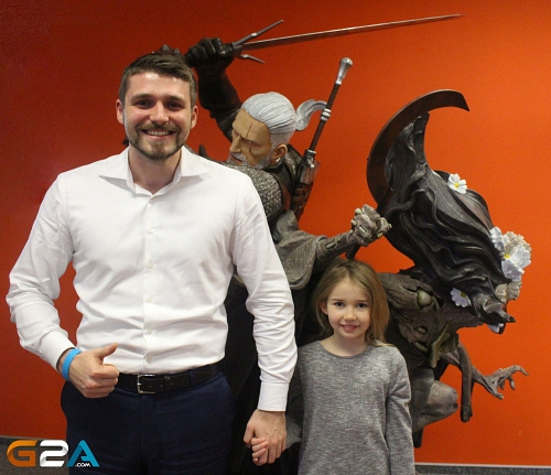 The Witcher is at Home in the G2A.COM Office