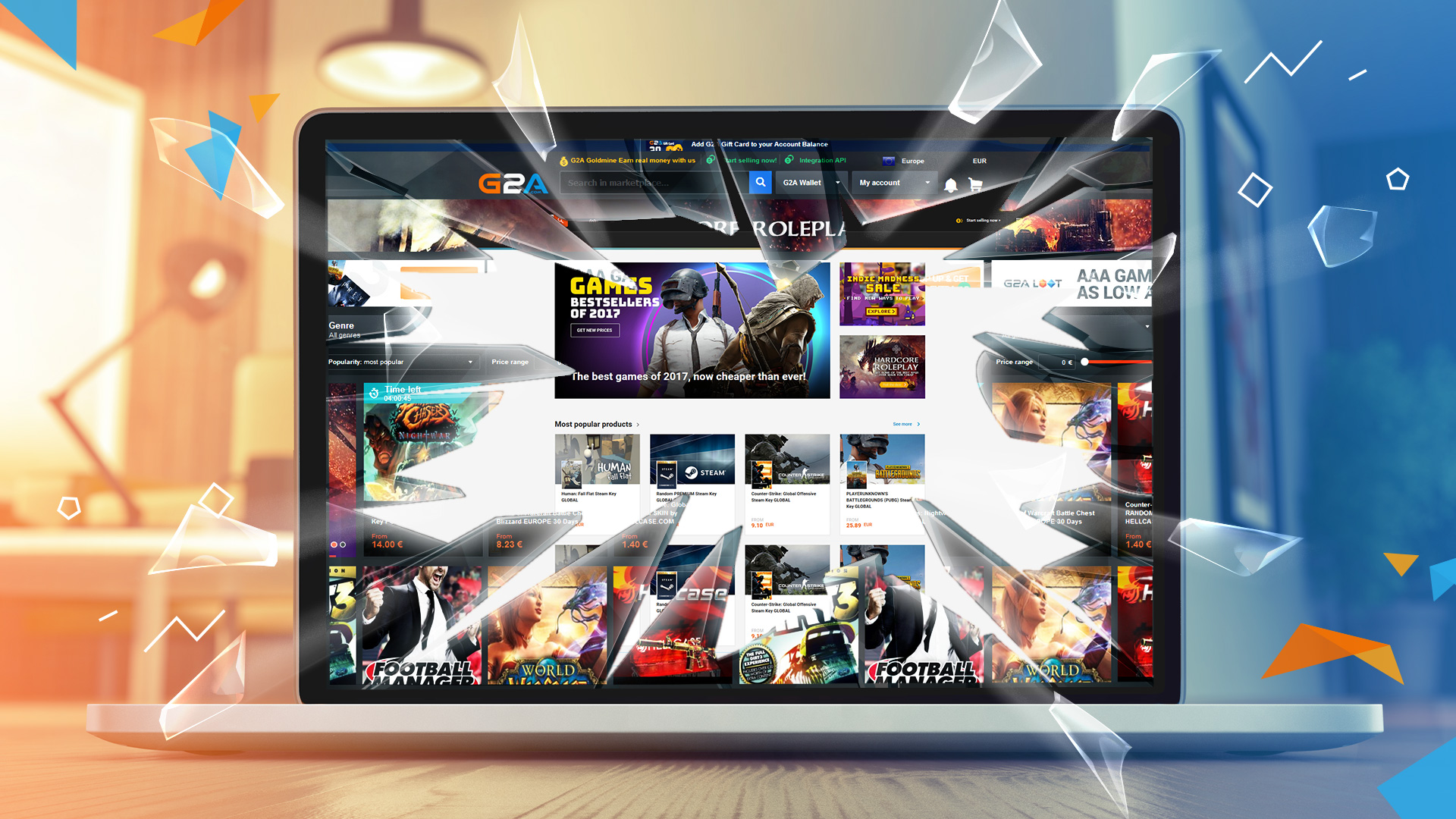 G2A.COM enters 2018 redesigned and reinspired