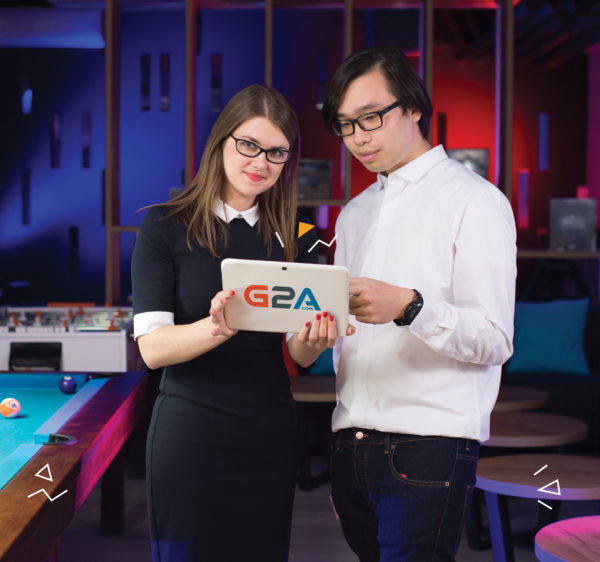 G2A.COM featured on the cover of Fenomen Polska