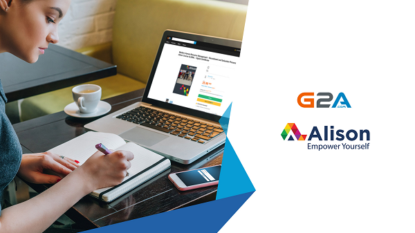 G2A.COM & Alison partner up to bring online courses to G2A Marketplace