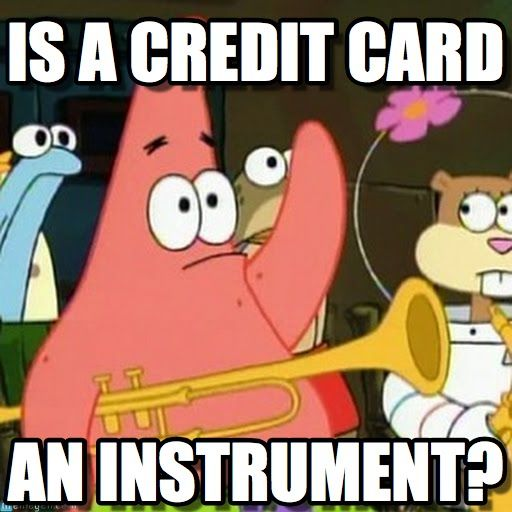 Not quite, Patrick, but it can be used as an instrument for fraud.