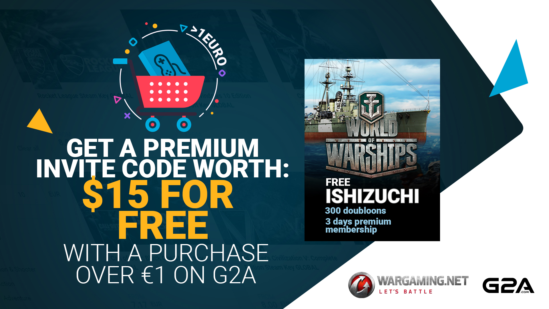 Wargaming teams up with G2A to offer exclusive World of Warships content