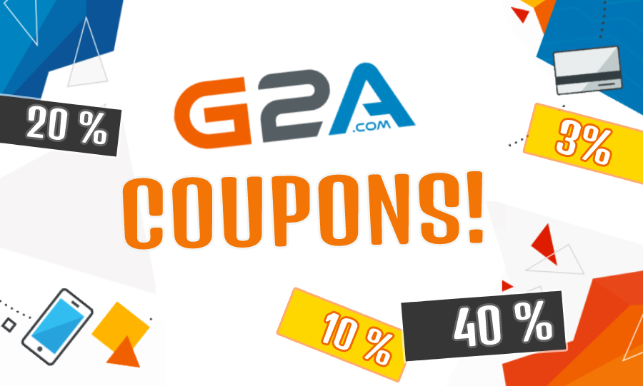 Cashback codes and discounts on G2A Marketplace