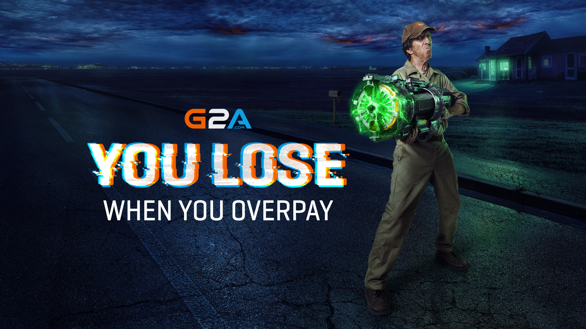 You lose when you overpay  – G2A.COM launches a new marketing campaign in Europe