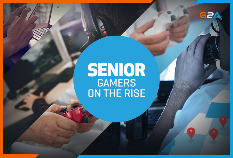 Lockdown sees the rise of over 60s gamers, G2A data reveals