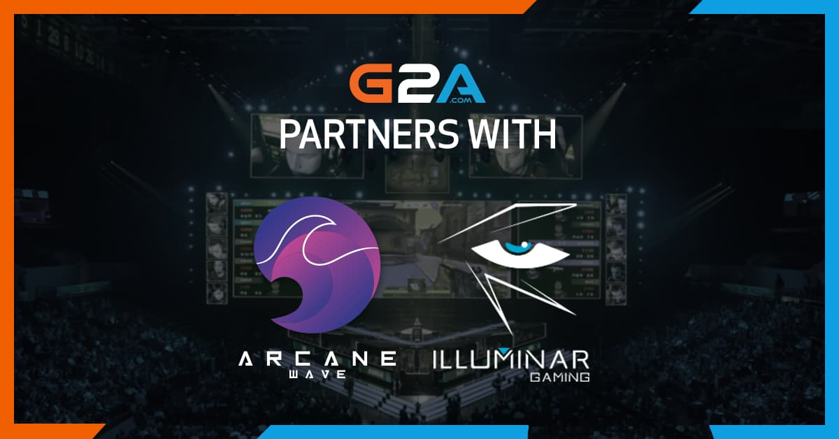 G2A teams up with Illuminar Gaming and Arcane Wave