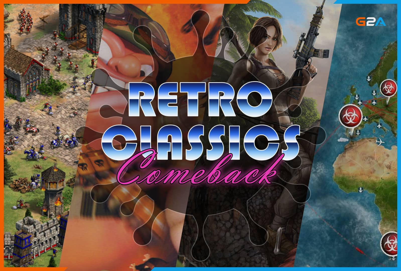 Retro classics are making a comeback as people get back into gaming during lockdown, G2A data reveals