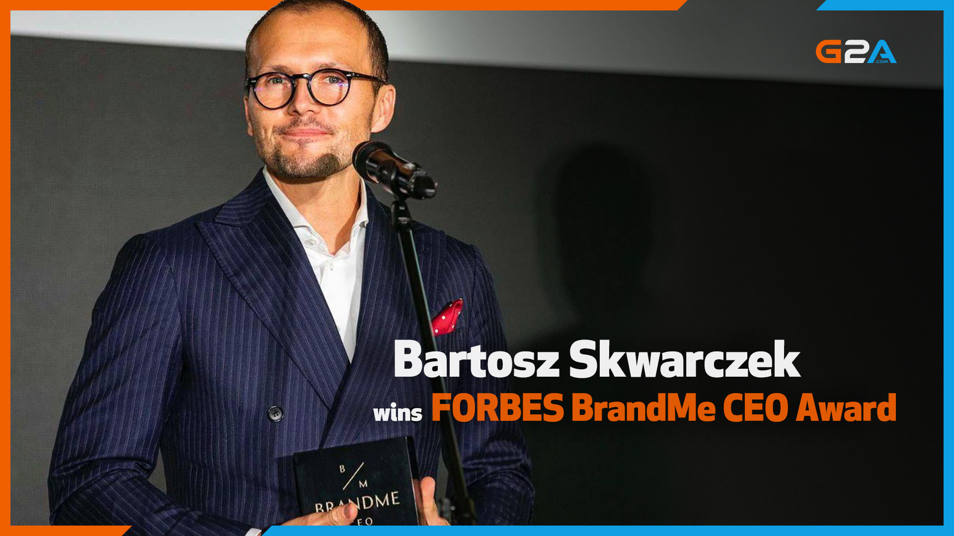 G2A CEO Bartosz Skwarczek wins major leadership award from FORBES