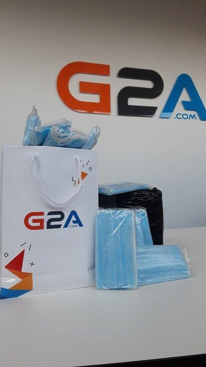 G2A bought several hundred facemasks for its employees in January 2020