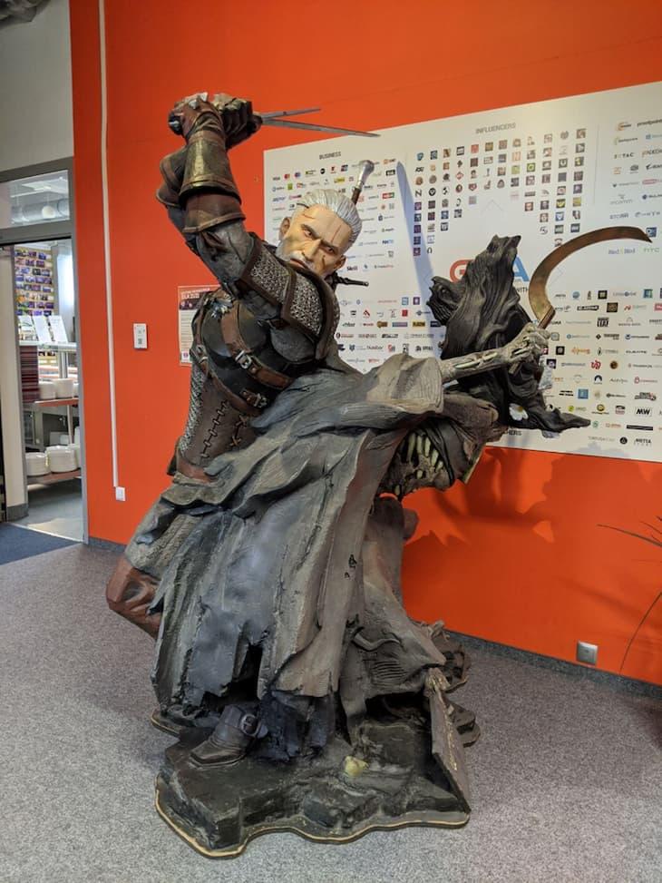Witcher 3 Statue
