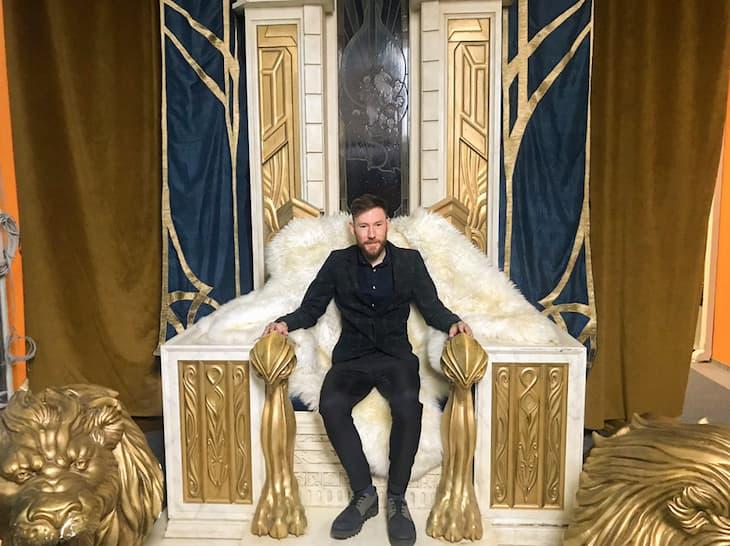 World of Warcraft throne