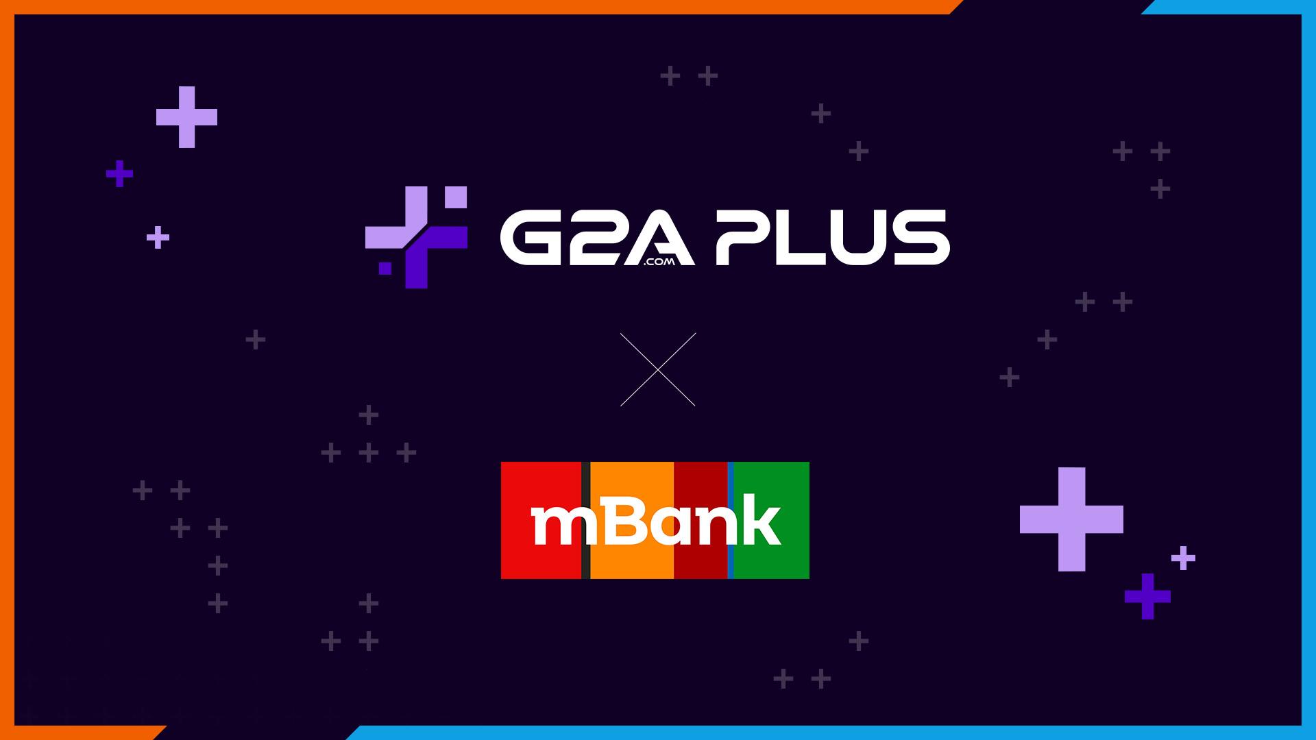 G2A i mBank oferują nowe konta dla graczy ze zniżkami na gry