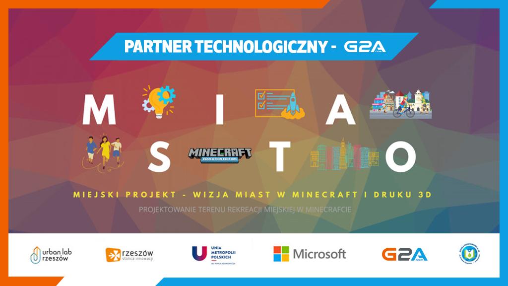 G2A.COM wspiera projekty edukacyjne w Minecraft