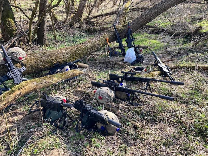 outdoor battle