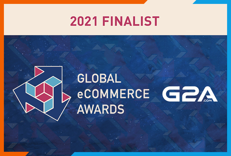 G2A.COM nominated for Global eCommerce Awards 2021