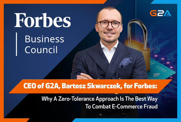 G2A's CEO Bartosz Skwarczek for Forbes: What is the best approach to combating ecommerce fraud?