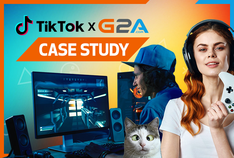 G2A.COM GETS CREATIVE TO TELL ITS STORY TO TIKTOK'S GAMING COMMUNITY